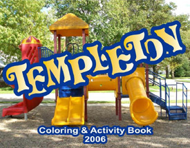 Coloring Book - Templeton
